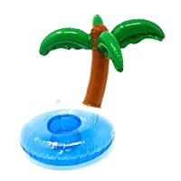 Inflatable Drink Holder - Holds Cups, Cans or Water Bottles!