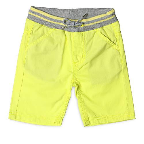 ESPRIT KIDS Jungen Woven Shorts, Gelb (Lemon Drop 710), (Herstellergröße: 128)