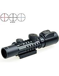 Fortune Rifle SCPE 2-6x28ET Button Switch avec niveau Muli-rail tactique Riflescopes