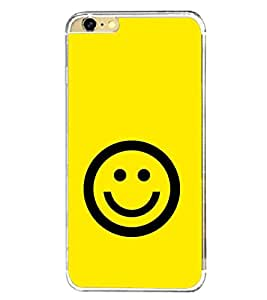 Smiley 2D Hard Polycarbonate Designer Back Case Cover for Apple iPhone 6