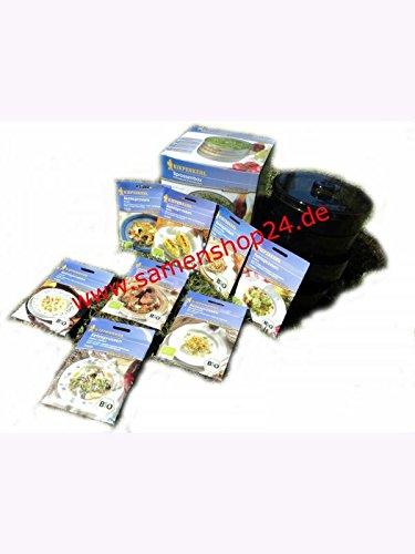 Kiepenkerl Keimsprossen-Sortiment 10 Bio-Sorten inkl. Keimbox
