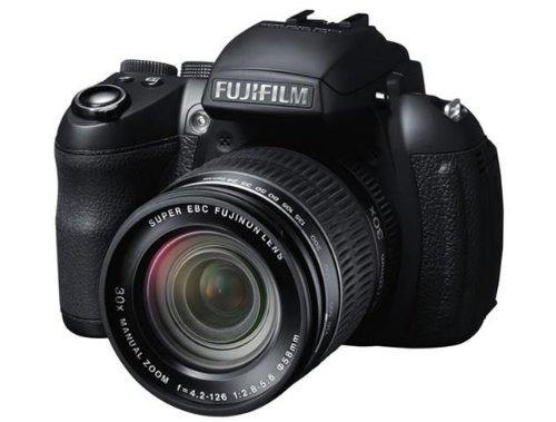 Fujifilm FinePix HS35EXR Digitalkamera Digitalkamera (16 Megapixel, 30-fach opt. Zoom, Full-HD, 7,6 cm (3 Zoll) LCD CMOS Sensor, HDMI, bildstabilisiert, USB 2.0) schwarz