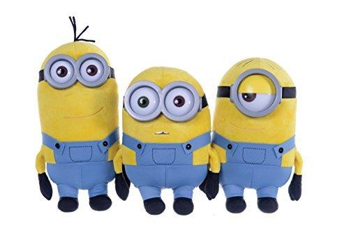 Minions despicable me ragazzi peluche minions bob 28 cm – giallo –