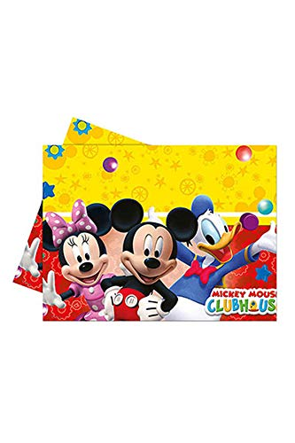 Disney Micky Maus Clubhouse Party Tischdecke Plastik 120x180cm (Party-tischdecken Maus Minnie)