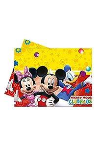 Amscan International- Mantel plástico 120 x 180 cm, Mickey Mouse, unico (Perona 50866)