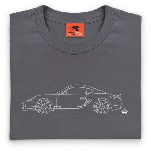 PistonHeads German 2-Door Coupe T-Shirt, Herren Anthrazit