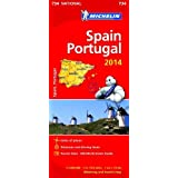 Spain & Portugal 2014 National Map 734 (Michelin National Maps)