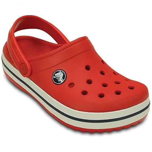 Crocs Crocs Crocband, Sabots mixte enfant Orange