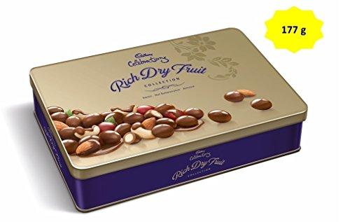 Cadbury Celebrations Rich Dry Fruit Chocolate Gift Pack, 177g