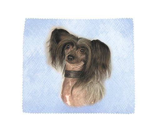 Chinesischer Schopfhund, weiche Mikrofaser-Reinigungstuch, Design No2