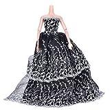 Best Bridal Dresses - SLB Works Brand New 1 Pcs Black Wedding Review