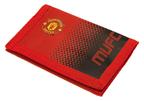 Manchester United FC 2428 Wallet Unisex-Kinder, Rot Manchester United Fashion