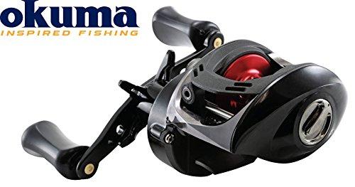 Okuma Ceymar LP C-266W Baitcaster Multirolle Rechtshand, Angelrolle zum Spinnfischen, Rolle für die Spinnrute, 160m 0,29mm Schnurfassung, 5kg Bremskraft, 6,6:1 Übersetzung, 215g Gewicht