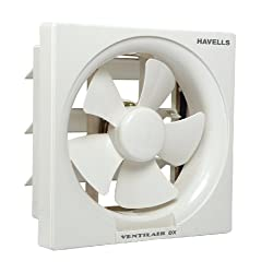 (CERTIFIED REFURBISHED) Havells FHVVEDXOWH10 250mm Exhaust Fan (White)
