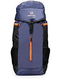 Chris & Kate Blue-Grey Travel Rucksack Backpack-Trekking Backpacks-Camping Daypack Bag(CKB_222RT)