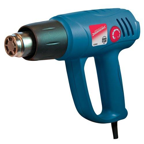 Silverline 125963 Silverstorm-Heißluftpistole mit Temperaturregler, 2000 W 600 °C