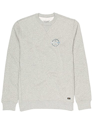 Herren Sweater Billabong Bias Crew Sweater Grey Heather