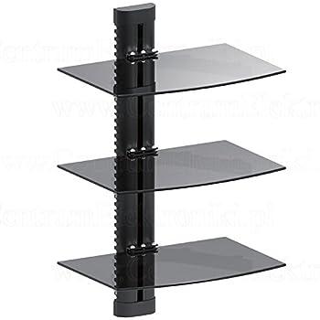 maclean mc 664 wandregal glasregal 8kg wandhalterung. Black Bedroom Furniture Sets. Home Design Ideas