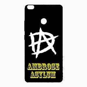 Letz Dezine Amberose Asylum Design Printed Mobile Back Case Cover for Xiaomi Mi Max