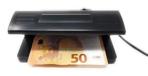 Detector Todo Tipo Billetes Falsos y Tarjetas de Crédito UV Luz Ultravioleta 318