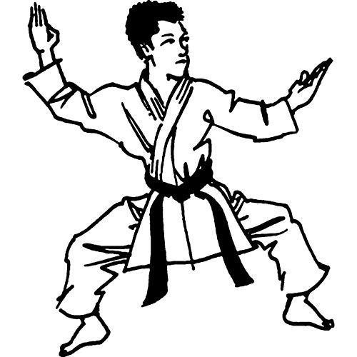 Azeeda A7 'Karate' Stempel (Unmontiert) (RS00001587)