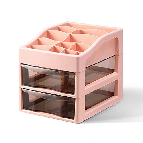 Bürotisch Aufbewahrungsbox Kunststoff Multi-Layer Kleine Schublade Datei Kosmetik Schreibtisch Schutt Finishing Box (Size : 2)