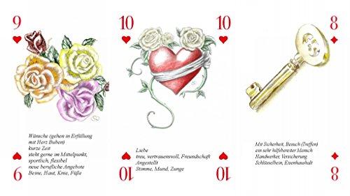 Gravidus 10 x 55 Romme Karten Kartenspiel Skat Canasta