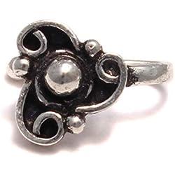 Triskele Pendientes de clip de plata de ley 925, pendientes falsos en estilo antiguo, joyas medievales, pendientes de clip, sin agujero