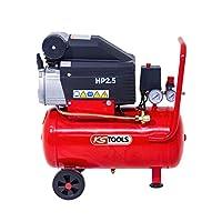 KS Tools – Compresseur d'air – Compresseur d'air 25 litres – 8 bars – 2CV – 230V – KS Tools 165.0702 pas cher