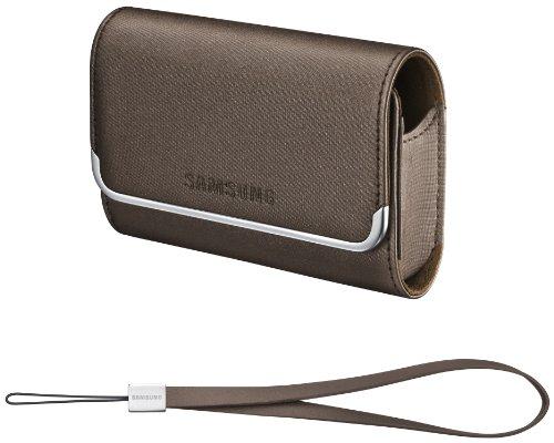 Samsung Slim Case EA-CC9S50N Kameratasche für ES65/70/73/75, PL80/90/100/150/200, ST100/500/550/5000/5500, WB2000, WP10 und U10/20 braun -
