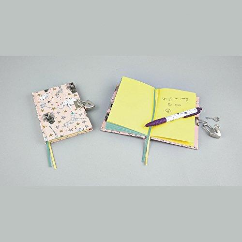Party Animal con cerradura cuaderno con bolígrafo con motivos de uva