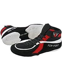 FOX-FIGHT - Zapatillas de lucha libre de Piel para hombre