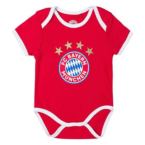 FC Bayern München Baby Body (86/92, Logo)