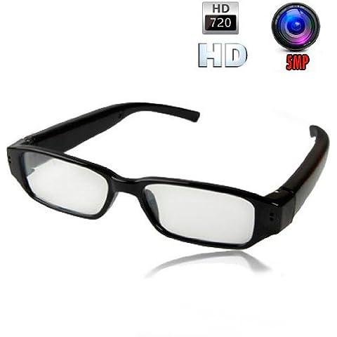 Gafas con cámara Profesionales Alta Definición Diseño Slim Micro SD