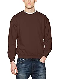 James & Nicholson Herren Sweatshirt Sweatshirt Round Sweat Heavy
