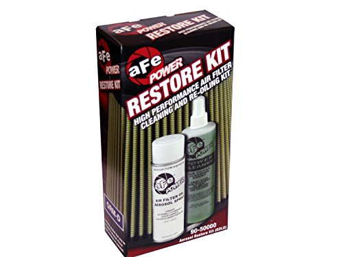 aFe Power MagnumFLOW 90-50000 Air Filter Restore Kit (Single, Gold) by aFe