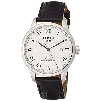 Tissot Reloj Analógico para Hombre de Automático con Correa en Cuero T0064071603300