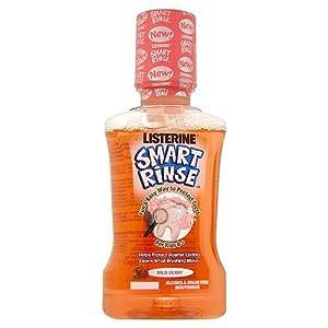Listerine Smart Rinse Kids Mouthwash Wild Berry