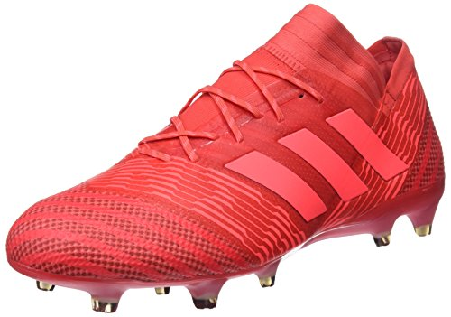 adidas Herren Nemeziz 17.1 FG Fußballschuhe Rot neonrot, 43 1/3 EU