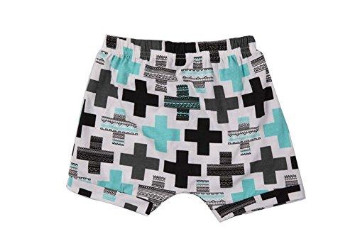 Genius Baby Baby ragazzo ragazza stampato bolle Haren Pantaloncini Cross 100 cm/2-3 Anni