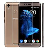 INFOCUS TURBO 5 Protective 2.5D Curved 0.3mm Pro 9H Hardness Toughened Tempered Glass Screen Guard Protector For Infocus Turbo 5 - BY MJ CREATION