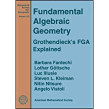 Fundamental Algebraic Geometry: Grothendieck's FGA Explained (Mathematical Surveys and Monographs Series (Sep.Title P)