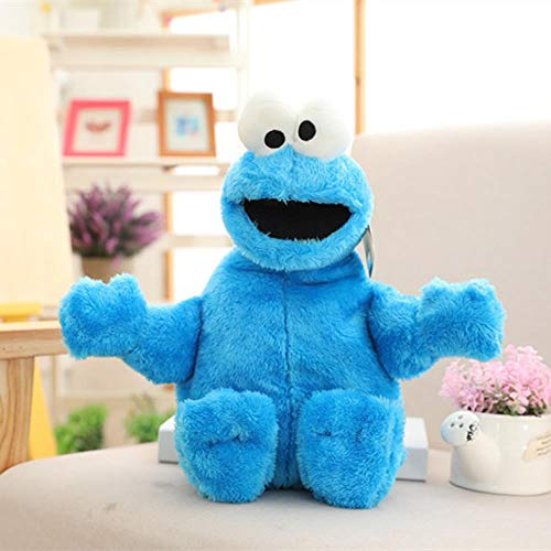 TTUIE 40 cm Kommen Sesamstraße Elmo Cookie Großen Vogel Weiches Plüschtier Puppen Wert Sammlung Spielzeug Geschenk Für Kinder, A