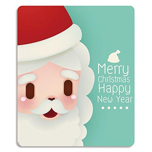 weihnachten mousepad, hübsches mädchen, weihnachtsgeschenk, alte elch, pinguin - bär, büro, haushalt, kleinen gummi - pad.,santa claus (Claus Bär)