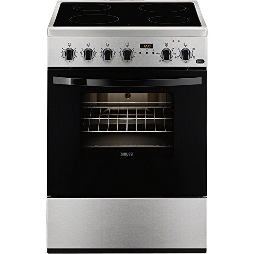 Zanussi ZCV65311XA - Cocina Integrado, Acero inoxidable, Giratorio, 56L, 1835W, Eléctrico