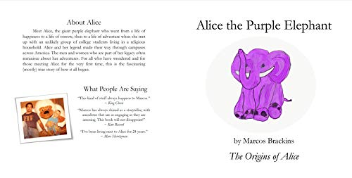 Alice the Purple Elephant: The Origins of Alice (English Edition)