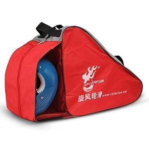 Kinder Roller Carry & Skate Skate Bag Sack Rollschuh Derdy Tote Rot