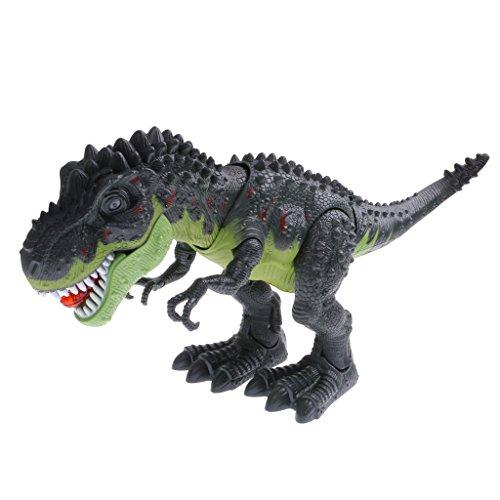 Juguete Jurásico Luz Dinosaurio Tyrannosaurus Eléctrica Animal para Cabrito 6623