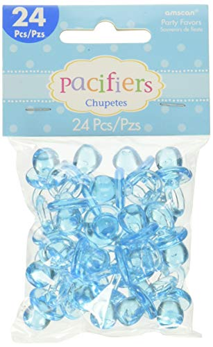 amscan Blau Mini Kunststoff Schnuller für Charms