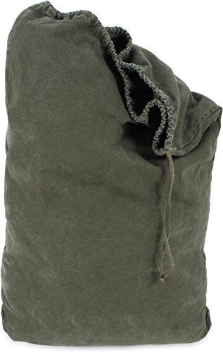 US Wäschesack aus 100% Baumwolle, Oliv, gebr.